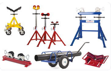 PIPE STANDS AND ROLLERS Distributors